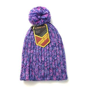 Seirus Candy Beanie Pom Knit Hat Cold Weather